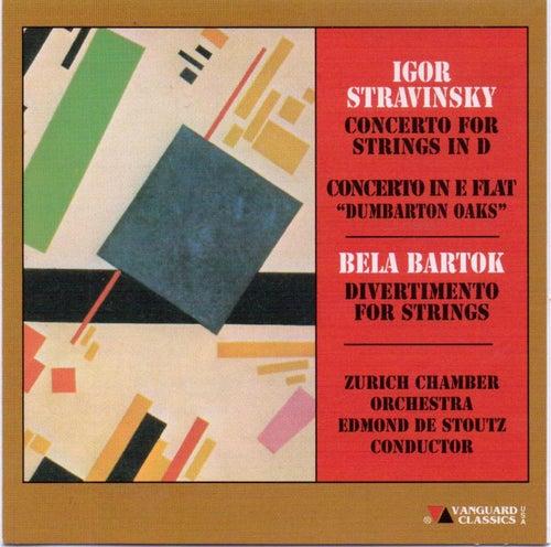 Stravinsky/Bartok - Works For Orchestra von Zurich Chamber Orchestra