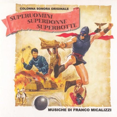 Superuomini, superdonne, superbotte (OST) di Franco Micalizzi