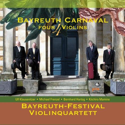 Bayreuth Carnaval 4 Violins de Bayreuth-Festival-Violinquartett