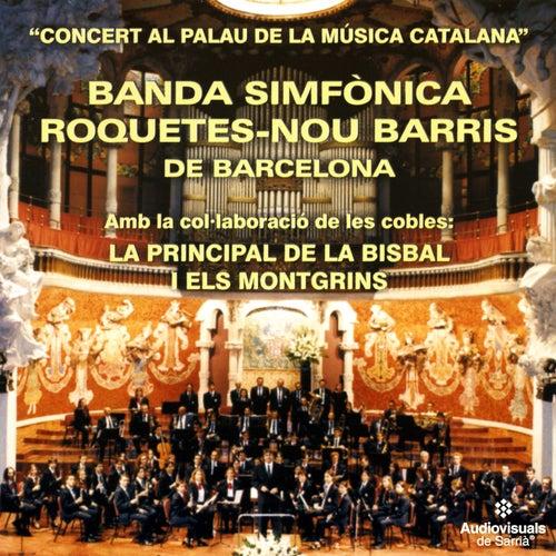 Concert Al Palau De La Música Catalana by Banda Simfònica Roquetes-Nou Barris de Barcelona