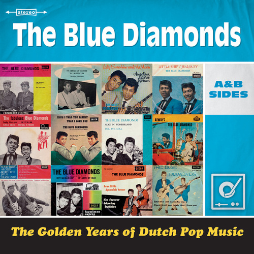 Golden Years Of Dutch Pop Music de Blue Diamonds