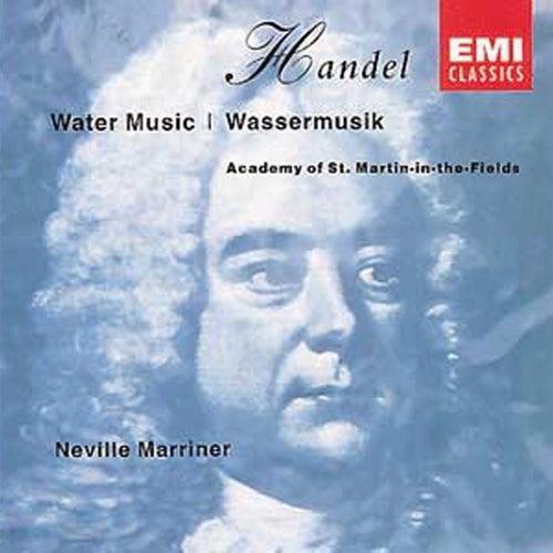 Handel: Water Music, Suites Nos 1-3 de Sir Neville Marriner