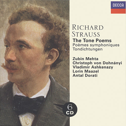 Strauss, Richard: The Tone Poems von Vladimir Ashkenazy