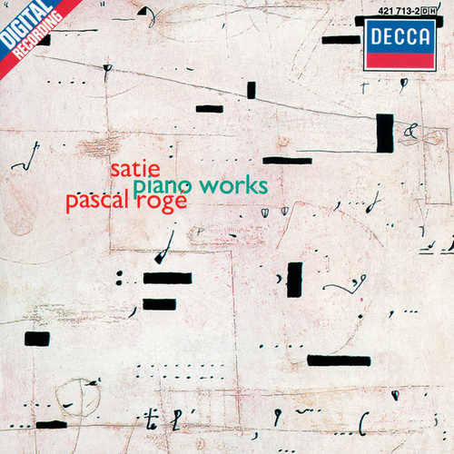 Satie: Piano Works de Pascal Rogé
