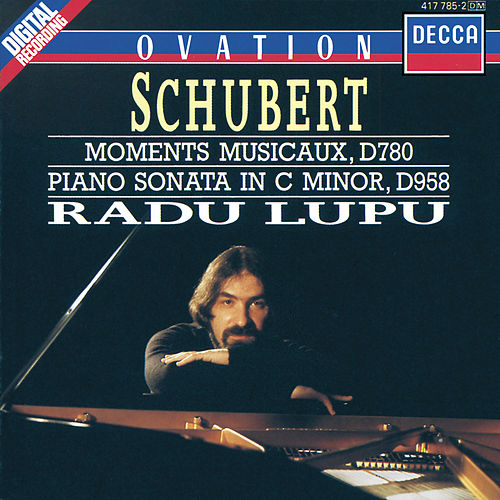Schubert: 6 Moments Musicaux; Piano Sonata in C minor, D958 de Radu Lupu