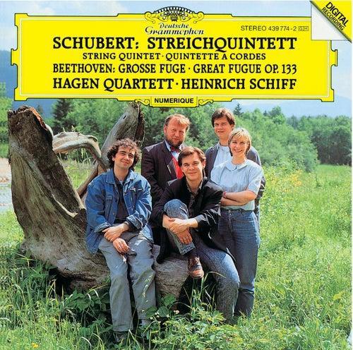 Schubert: String Quintet in C op. posth.163 D956 / Beethoven: Great Fugue in B flat major by Hagen Quartett