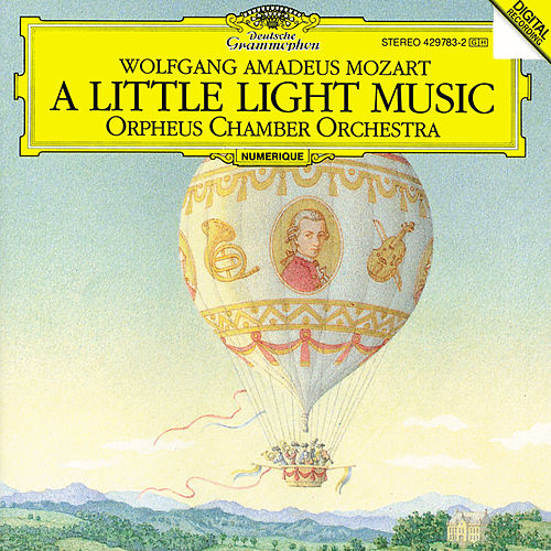 Mozart: 'A Little Light Music' de Orpheus Chamber Orchestra