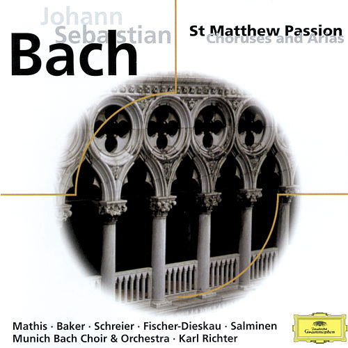 J.S. Bach: St. Matthew Passion, Choruses and Arias de Edith Mathis