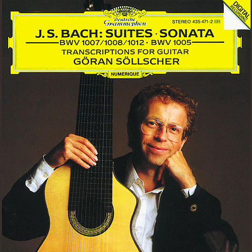 J.S. Bach: Transcriptions for Guitar Solo de Göran Söllscher