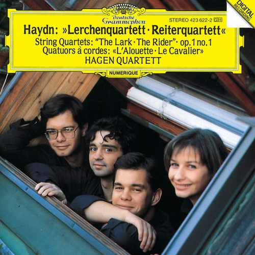 Haydn: String Quartets Op.64 No.5 'The Lark'; Op.1 No.1; Op.74 No.3 'The Horseman' by Hagen Quartett