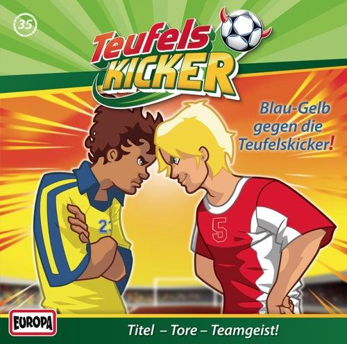 35/Blau-Gelb gegen die Teufelskicker! by Teufelskicker