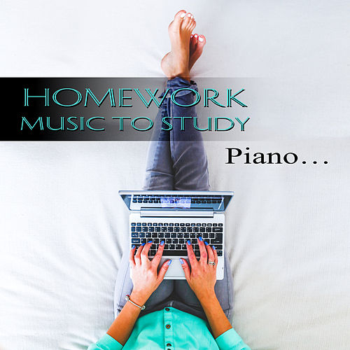 Homework Music To Study - Exam Studying Songs for Coursework Preparation & Book Reading, Calm Piano Pieces, Concentration, Classical Anti Stress Music de Peaceful Piano