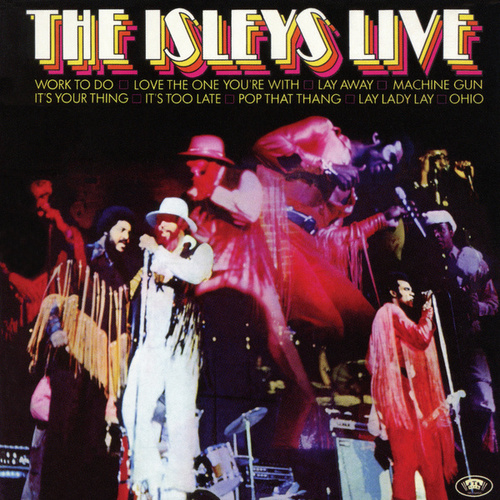 The Isleys Live de The Isley Brothers