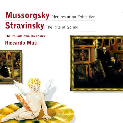 Mussorgsky: Pictures at an Exhibition - Stravinsky: The Rite of Spring by Philadelphia Orchestra