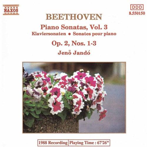 Beethoven: Piano Sonatas, Vol. 3 di Jeno Jando
