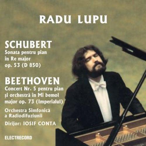 Shubert,  Beethoven de Radu Lupu