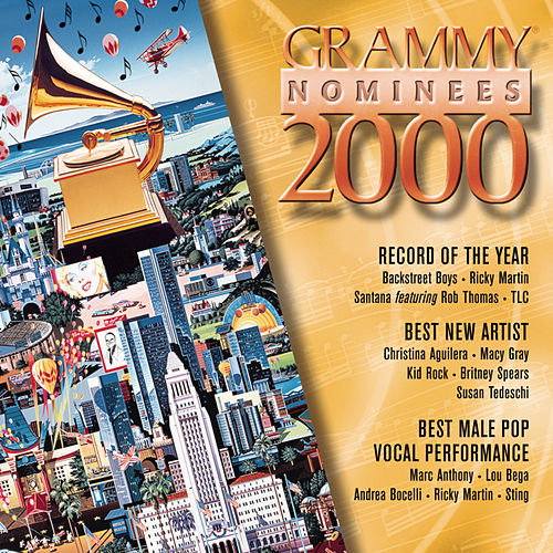 2000 Grammy Nominees--Pop by Various Artists