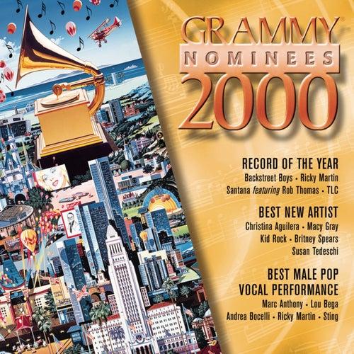 2000 Grammy Nominees--Pop de Various Artists