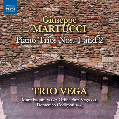 Martucci: Piano Trios Nos. 1 & 2 de Trio Vega