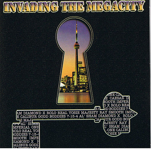Invading the Mega City by Various Artists