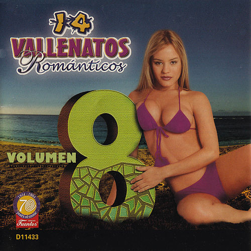 14 Vallenatos Románticos, Vol. 8 von Various Artists