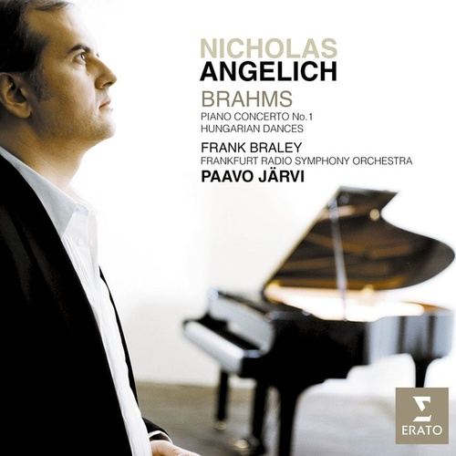 Brahms: Piano Concerto No.1 & Hungarian Dances de Nicholas Angelich