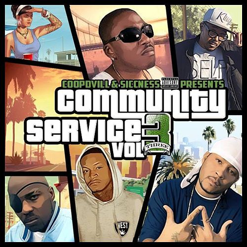 Community Service Vol. 3 by Various Artists