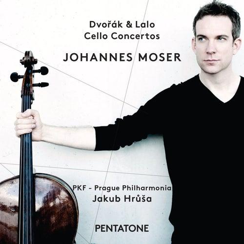 Dvořák & Lalo: Cello Concertos de Johannes Moser