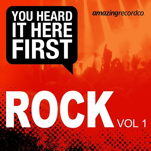 You Heard It Here First (Rock, Vol. 1) de Various Artists