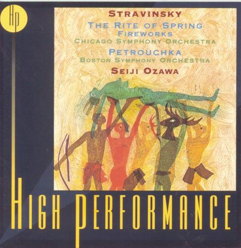 Stravinsky: Petrouchka, The Rite Of Spring, Fireworks von Igor Stravinsky