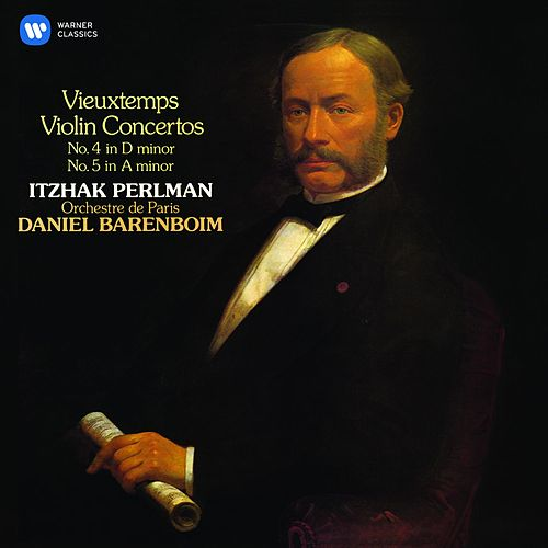 Vieuxtemps: Violin Concertos Nos 4 & 5 by Itzhak Perlman