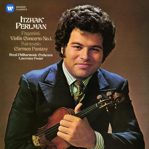 Paganini: Violin Concerto No. 1 - Sarasate: Carmen Fantasy de Itzhak Perlman