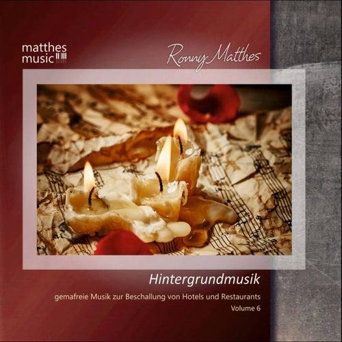 Hintergrundmusik - Gemafreie Musik zur Beschallung von Hotels & Restaurants, Vol. 6 von Ronny Matthes