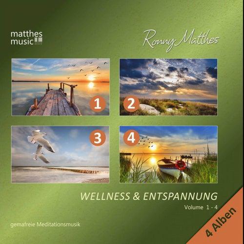 Wellness & Entspannung (Vol. 1 - 4) - Gemafreie Meditationsmusik [Inkl. Tiefenentspannung] von Ronny Matthes