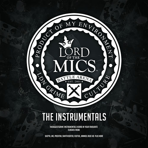 Lord of the Mics Battle Arena: Instrumentals von Various Artists