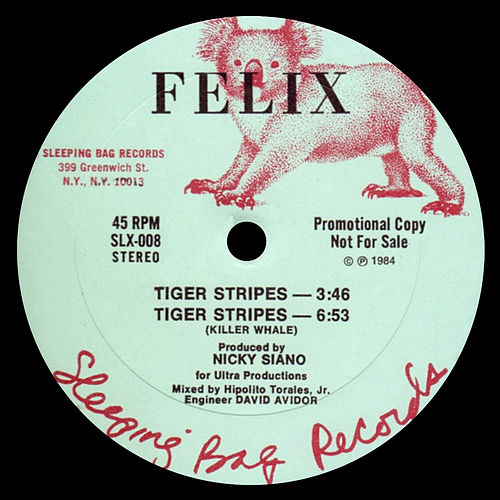 Tiger Stripes / You Can't Hold Me Down de Felix (Rock)