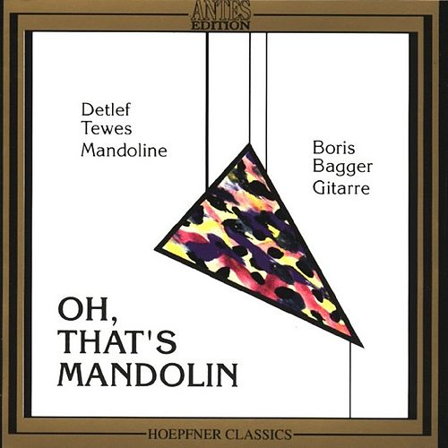 Oh, That's Mandoline by Boris Björn Bagger