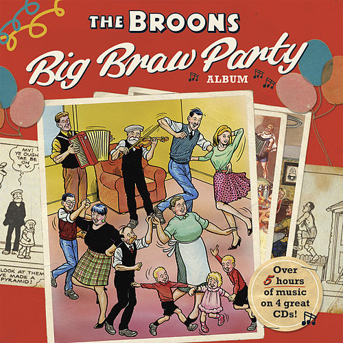 The Broons Big Braw Party Album by Various Artists
