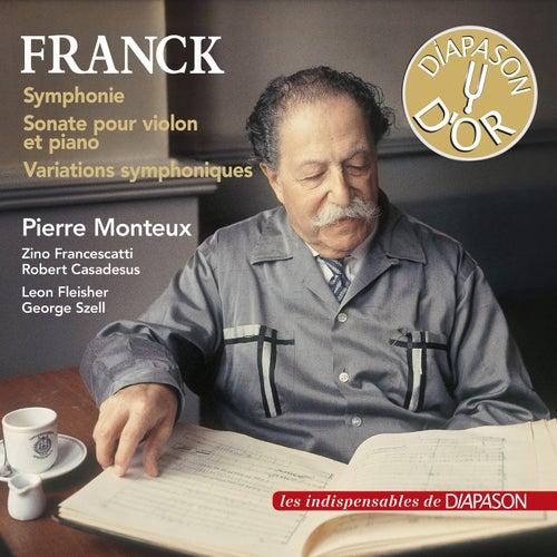 Franck: Symphonie, Sonate pour violon et piano & Variations symphoniques (Les indispensables de Diapason) de Various Artists