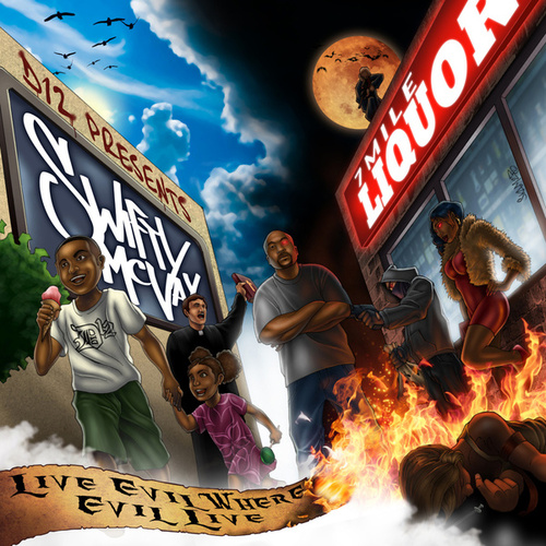 D12 Presents Swifty McVay LIVE EVIL where EVIL LIVE by Swifty McVay