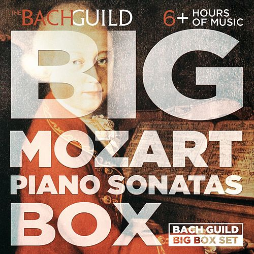 Big Mozart Piano Sonatas Box by Jeffrey Biegel