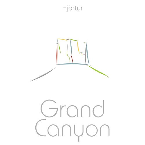 Grand Canyon by Hjortur