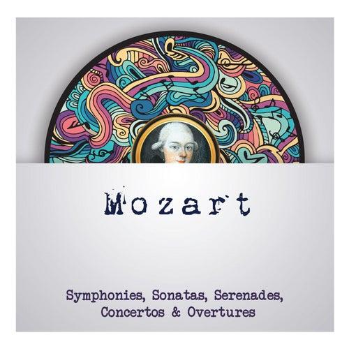 Mozart - Symphonies, Sonatas, Serenades, Concertos & Overtures de Wolfgang Amadeus Mozart