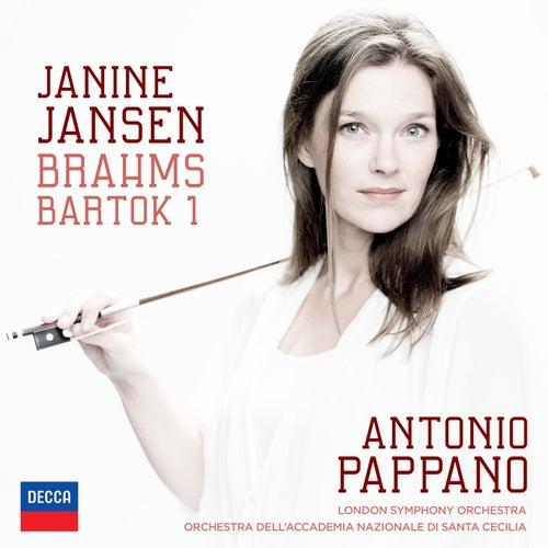 Brahms: Violin Concerto; Bartók: Violin Concerto No.1 von Janine Jansen