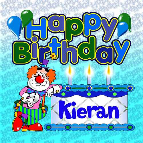 Happy Birthday Kieran von The Birthday Bunch
