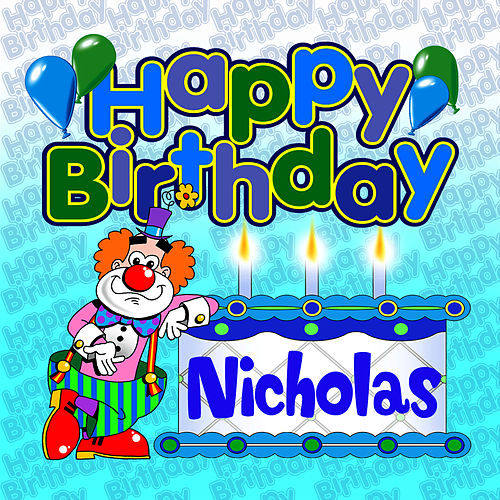 Happy Birthday Nicholas von The Birthday Bunch