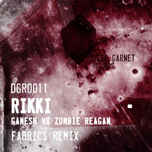 Ganesh vs Zombie Reagan by Rikki