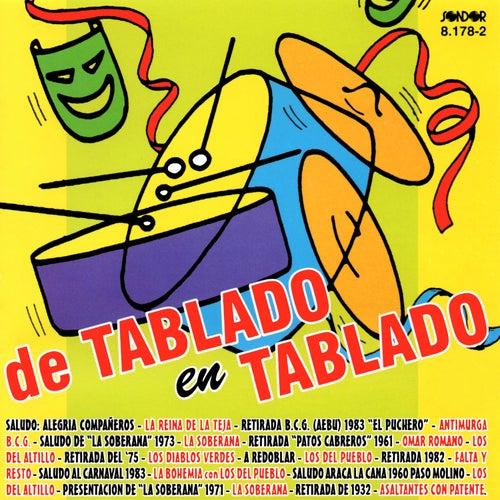 De Tablado en Tablado de Various Artists