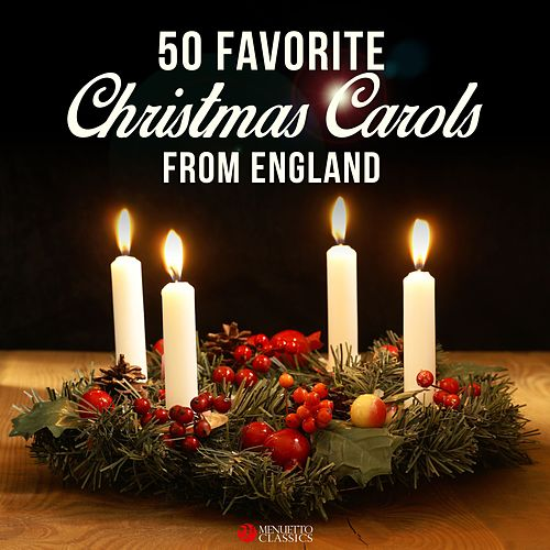 50 Favorite Christmas Carols from England de Various Artists