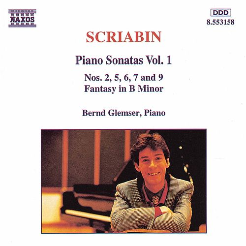 Piano Sonatas Vol. 1 by Alexander Scriabin